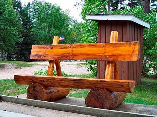 Cкамейка для дачи
