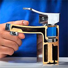 Как снять кран буксу со смесителя